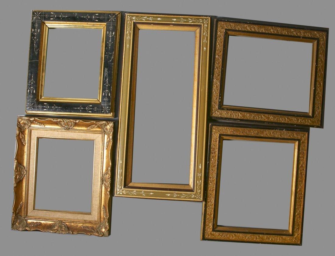 Antique & Vintage Frame lot, Wood