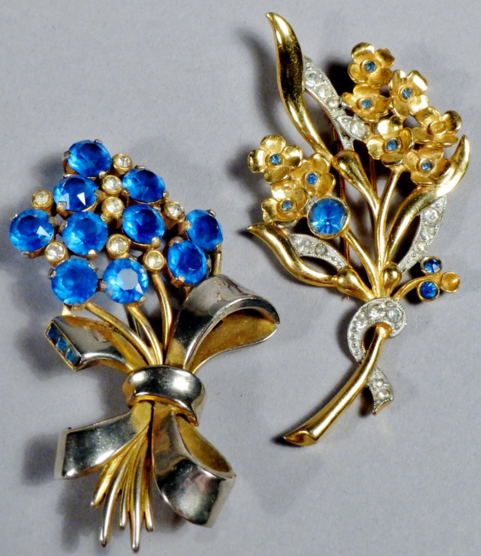 Lot of brooches Arts-n-Crafts, Art Deco Costume Jewelry - 4