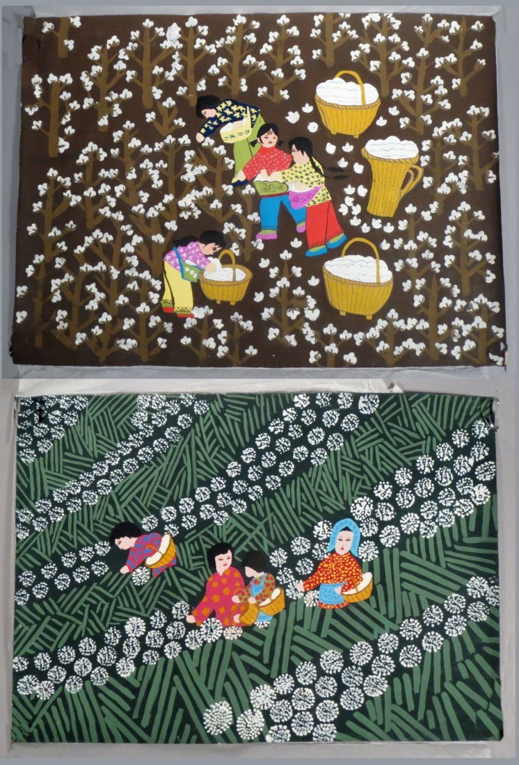Chinese Folk Art paintings
