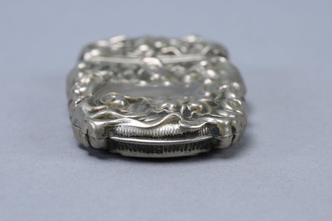 c1890 Art Nouveau Vesta Case Sterling - 5