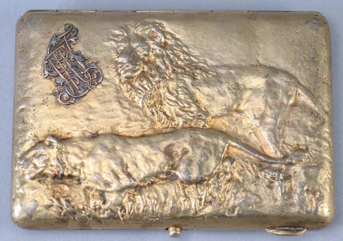 Antique Russian Kiev Cigarette Case