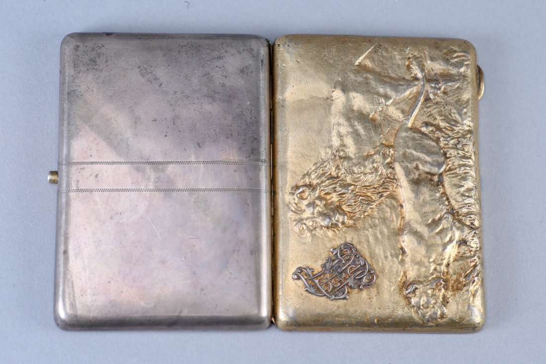 Antique Russian Kiev Cigarette Case - 3