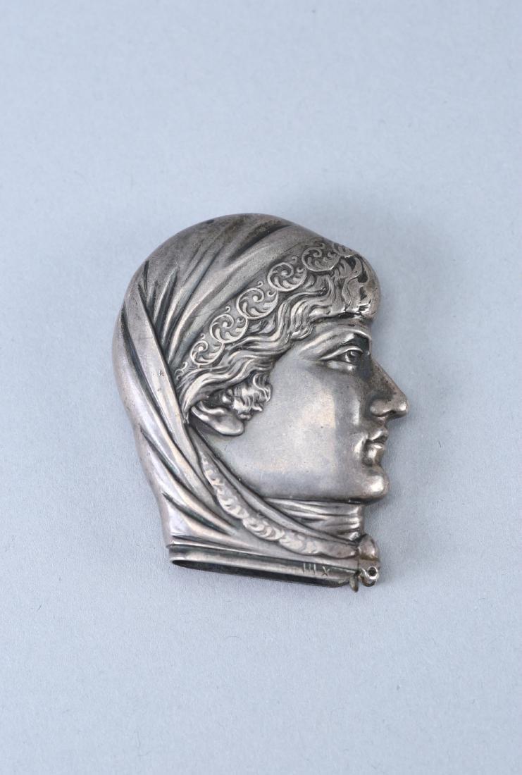 c1880 Sterling Vesta Case/Match Safe Head