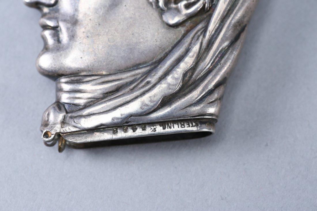 c1880 Sterling Vesta Case/Match Safe Head - 3