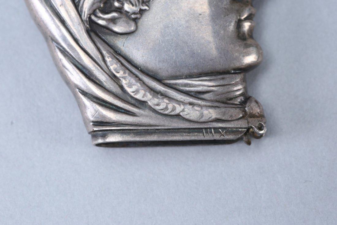 c1880 Sterling Vesta Case/Match Safe Head - 4