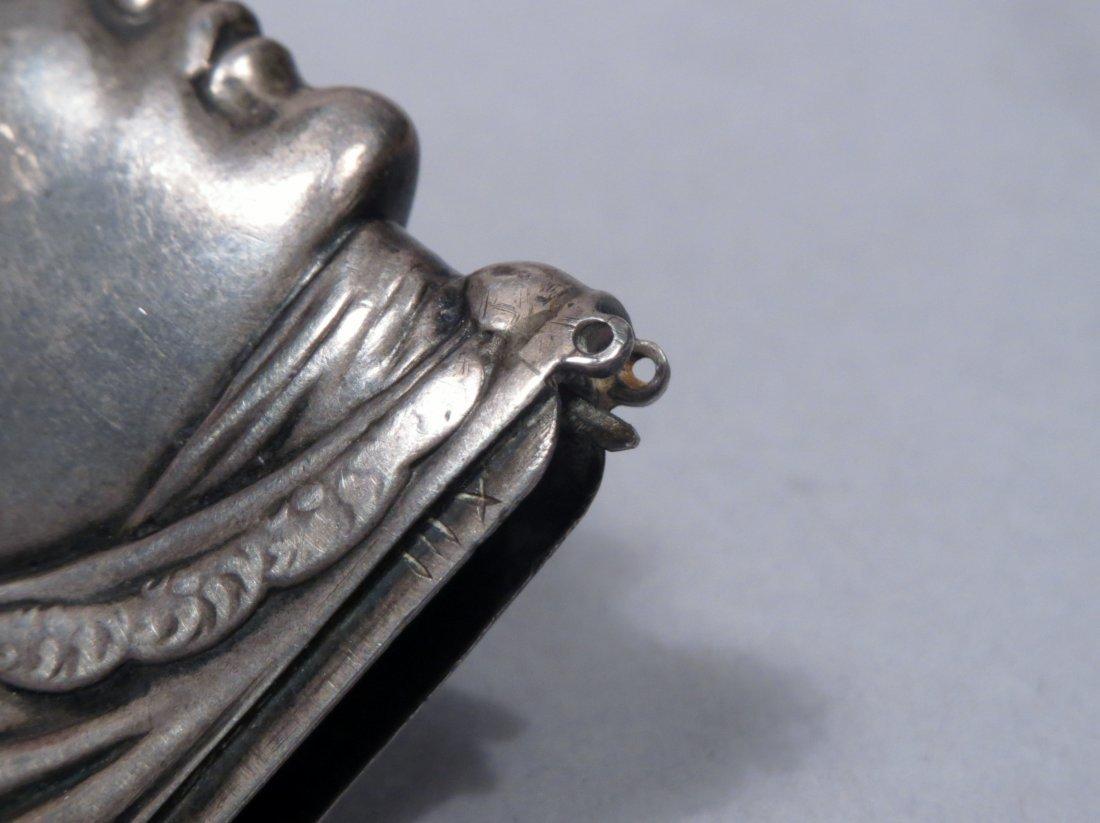 c1880 Sterling Vesta Case/Match Safe Head - 5