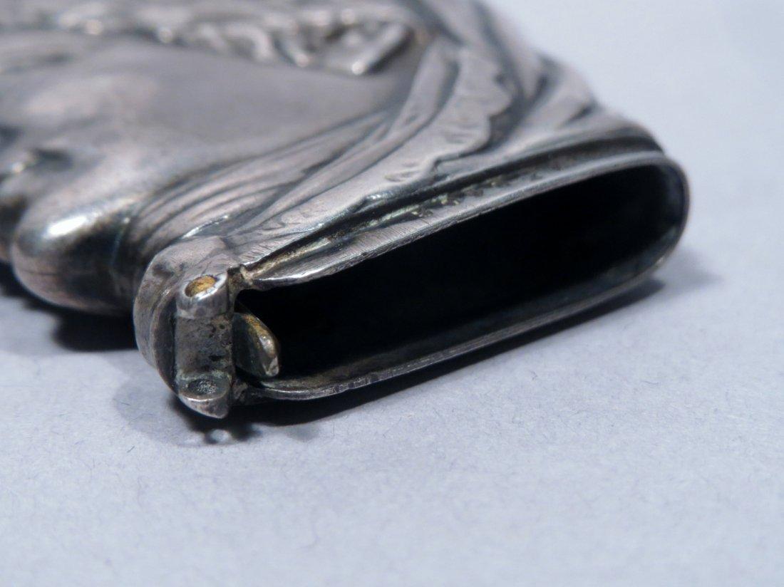 c1880 Sterling Vesta Case/Match Safe Head - 6