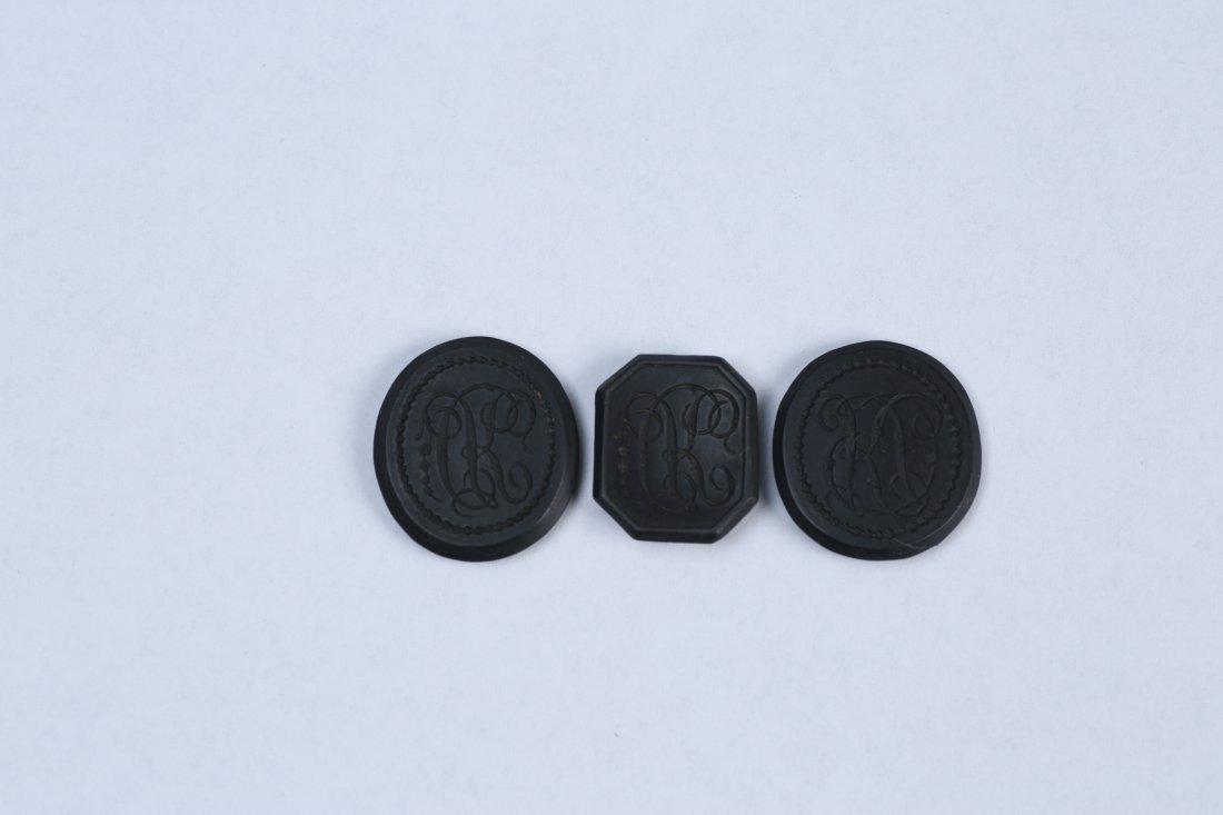 c1770 Wedgwood & Bentley Black Basalt Ciphers - 2