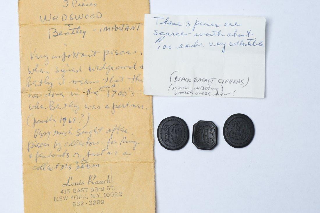 c1770 Wedgwood & Bentley Black Basalt Ciphers - 6