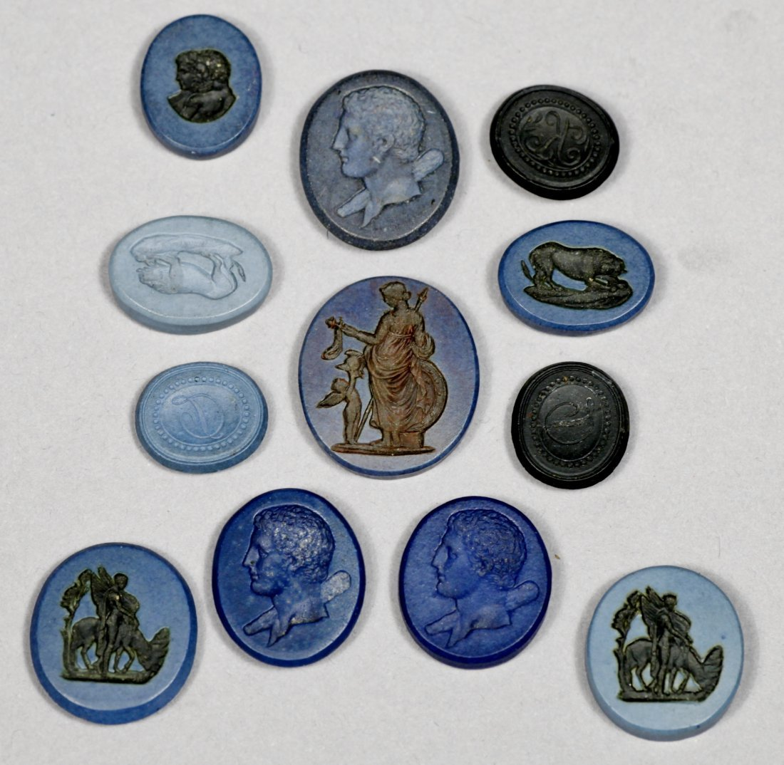 Antique Intaglio  Discs