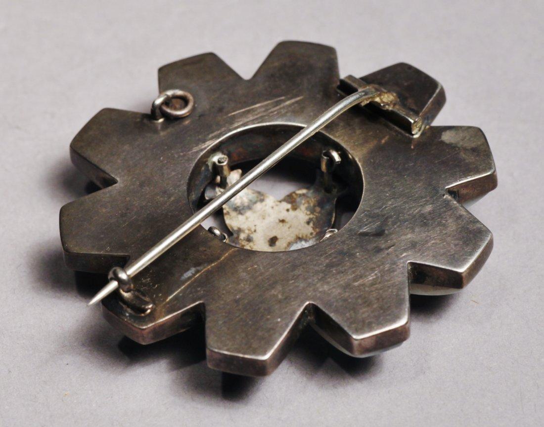 Scottish Agate Brooch  Pendant Sterling Victorian - 6