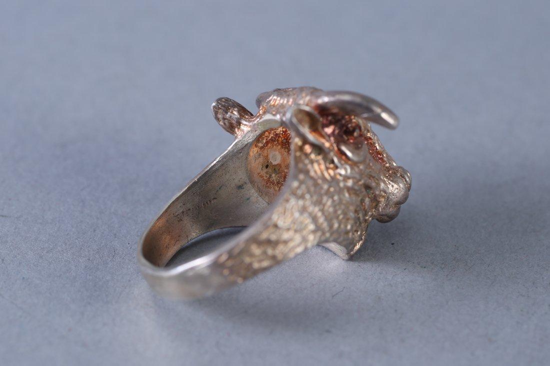 Vintage Designer Sterling Ring - 4