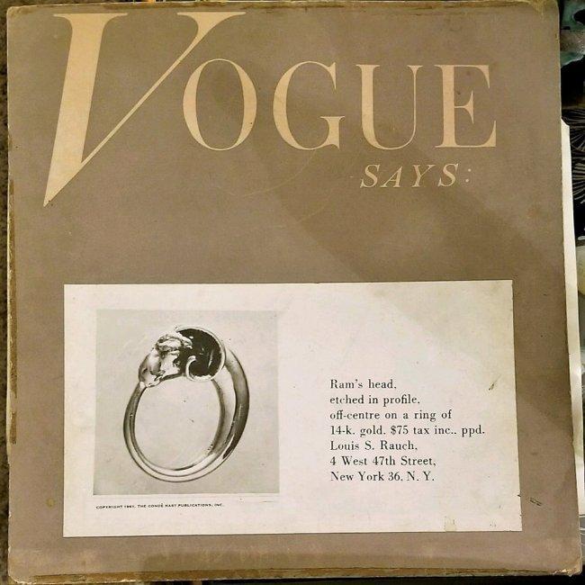 2 Stone Rings Vintage Designer Sterling - 3