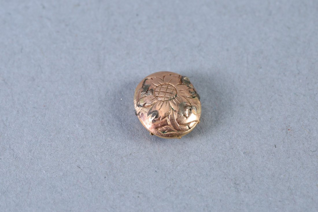 Georgian Very Miniature Portrait Miniature 10 K - 2