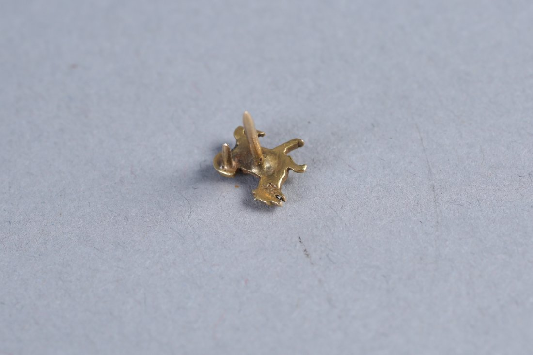 Misc Lot Vintage 14K & Sterling Tie Tacks - 4
