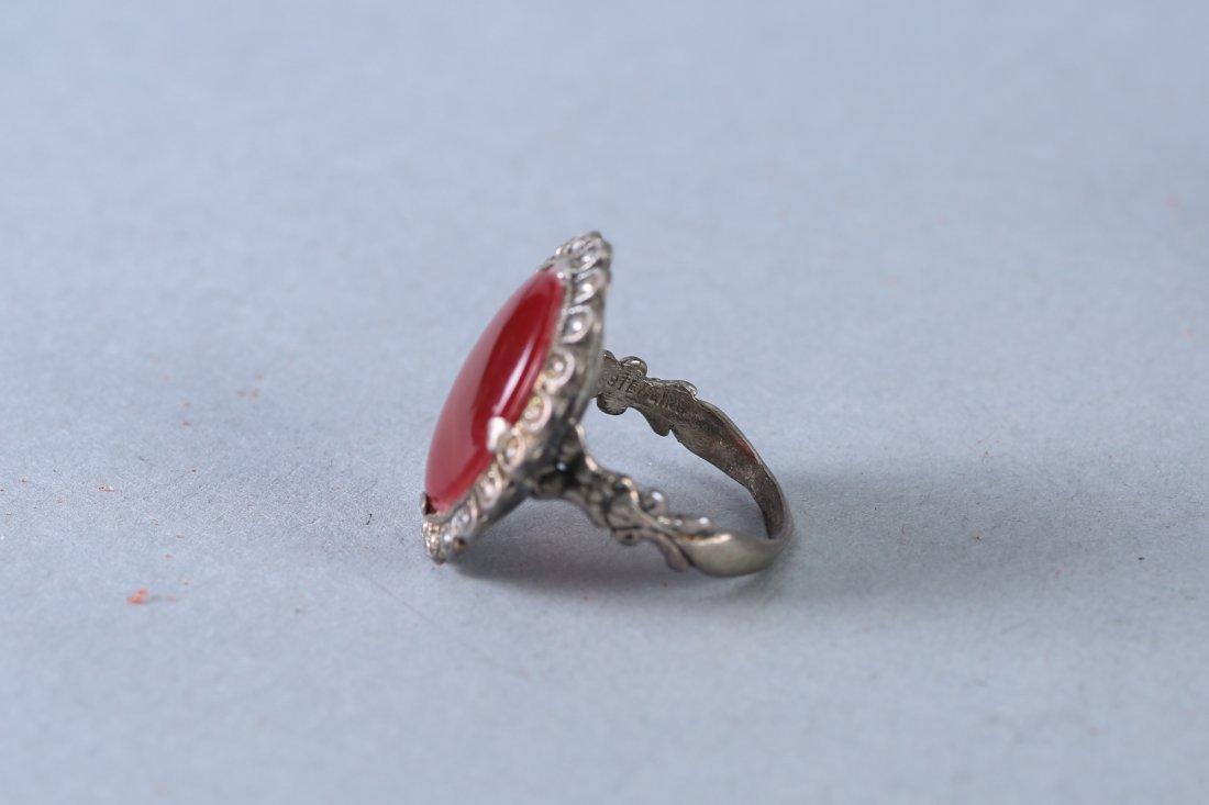 2 Vintage Sterling Rings - 3