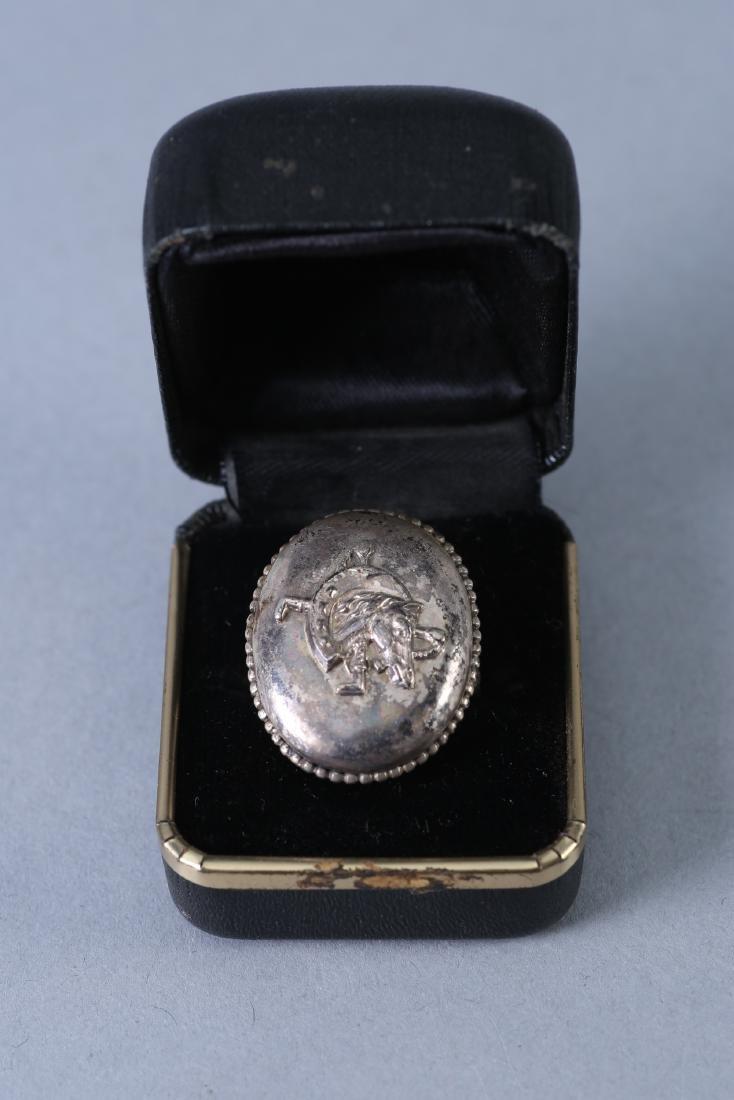 Vintage Designer Sterling Ring