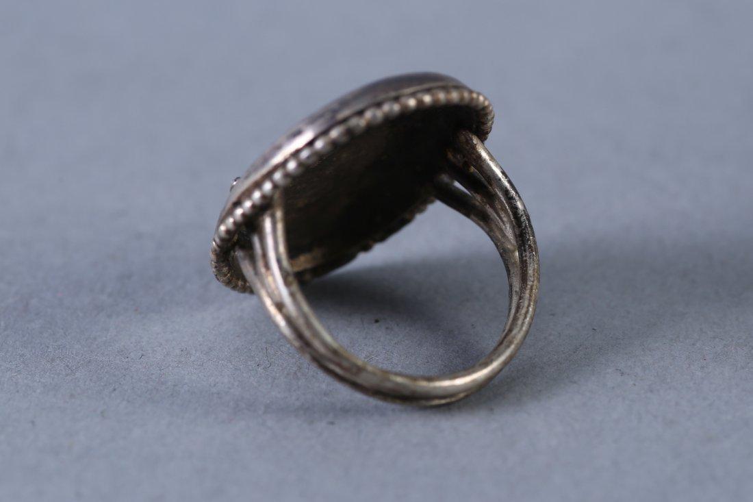 Vintage Designer Sterling Ring - 2