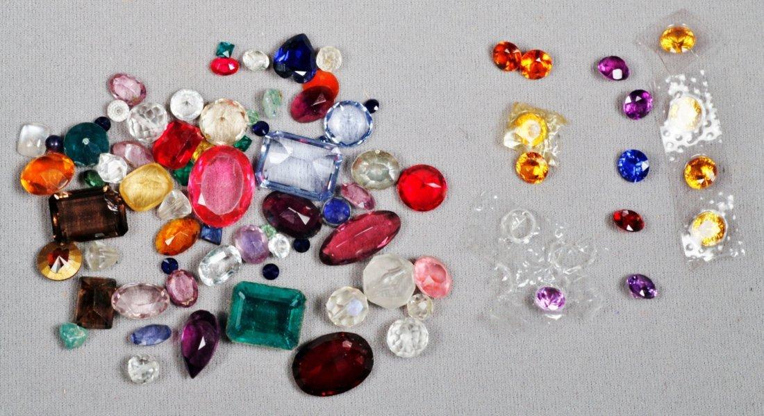 Lot of Syn. Gemstones