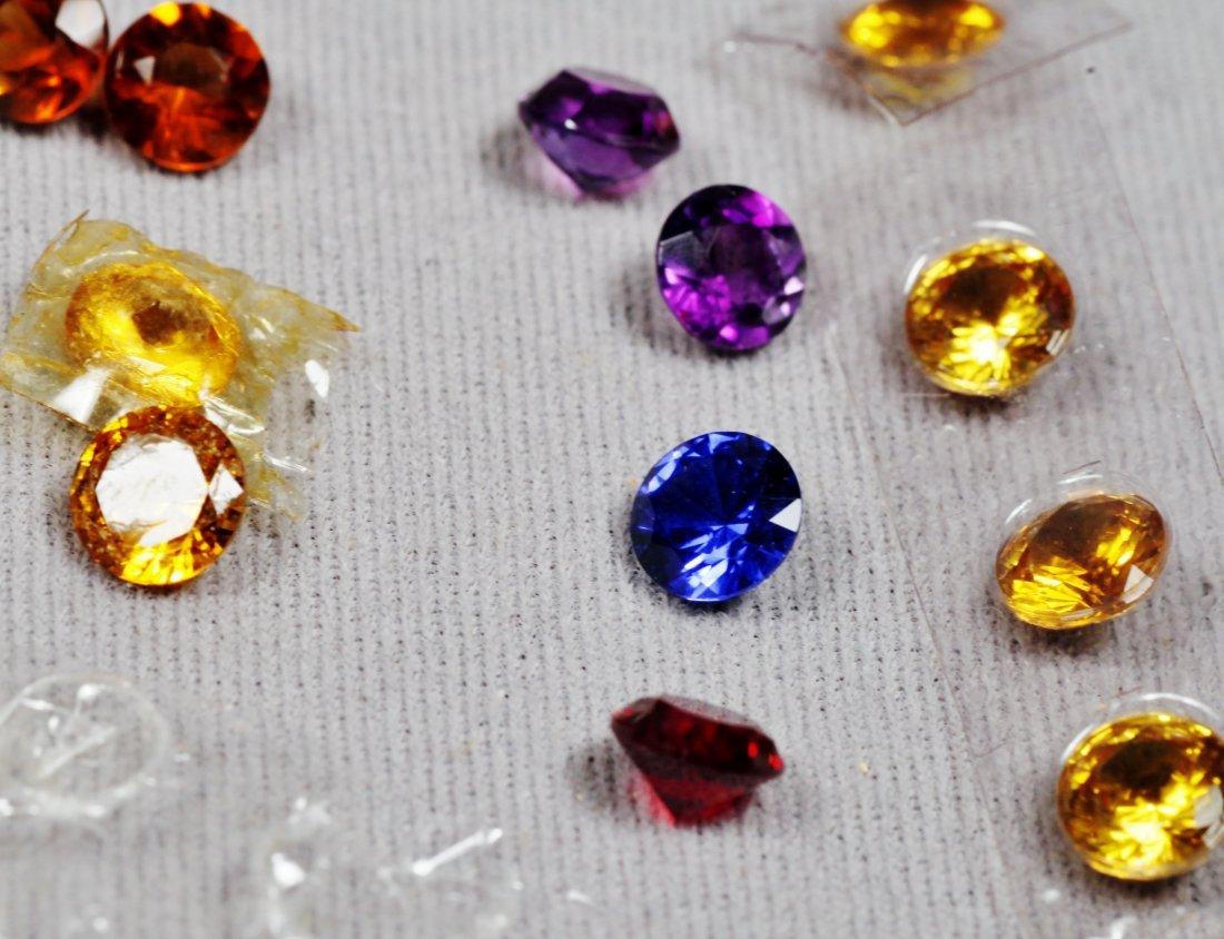 Lot of Syn. Gemstones - 2