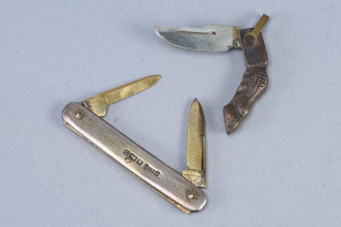 Vintage Lot Pocket Knives, Asprey & Novelty