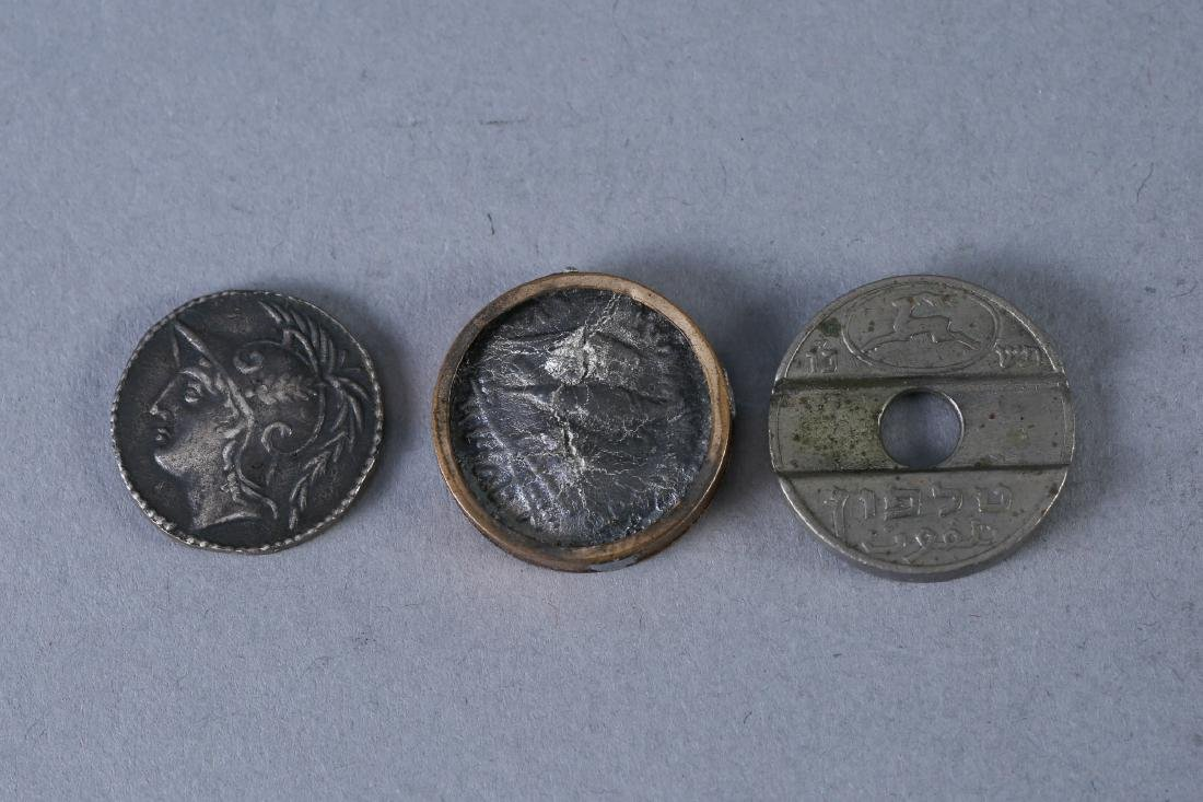 Lot of Three Antique Coins - 2