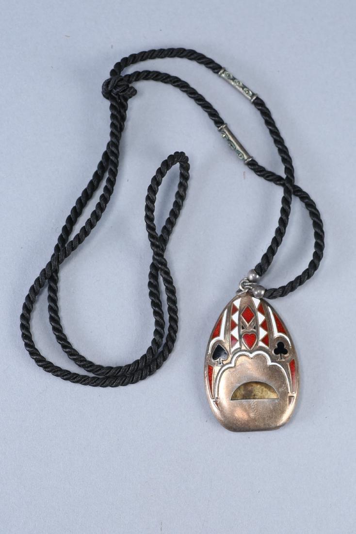 Vintage Thomae Co Sterling Silver Gambler's Whistle