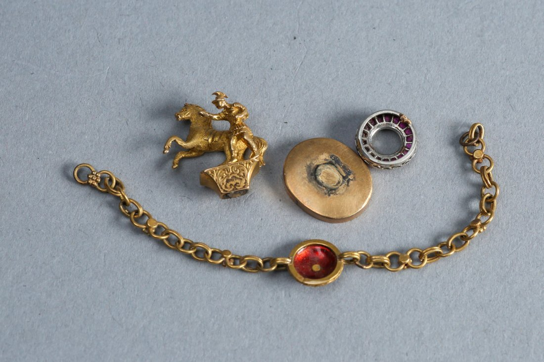 18k of Antique Gold Pieces, as found - 2