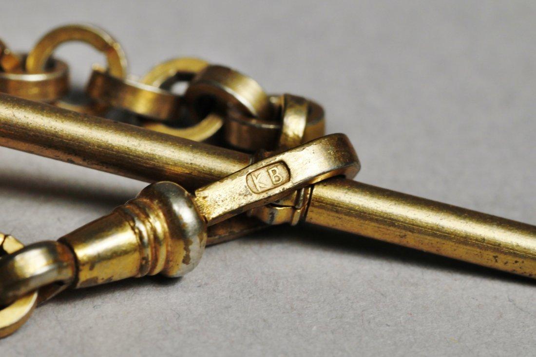 Antique Watch Chain Lot Victorian - 2