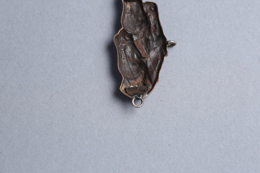 Misc Vintage/Antique Animal Medallions Menuki? - 3