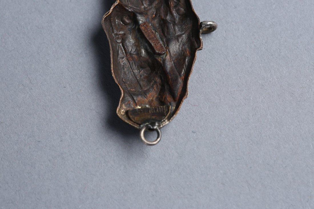 Misc Vintage/Antique Animal Medallions Menuki? - 4