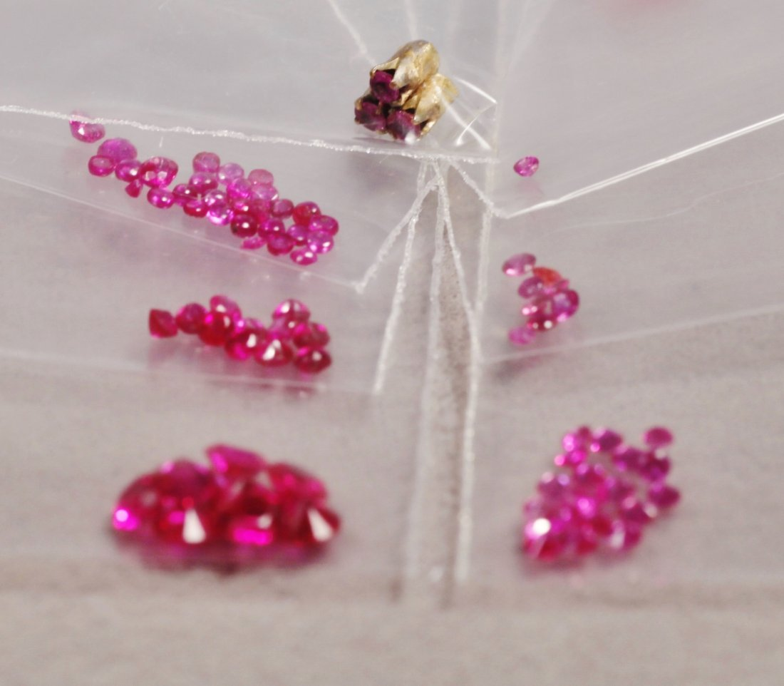 Large Lot of Rubies