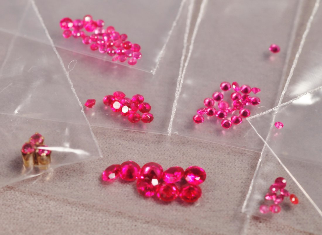 Large Lot of Rubies - 2