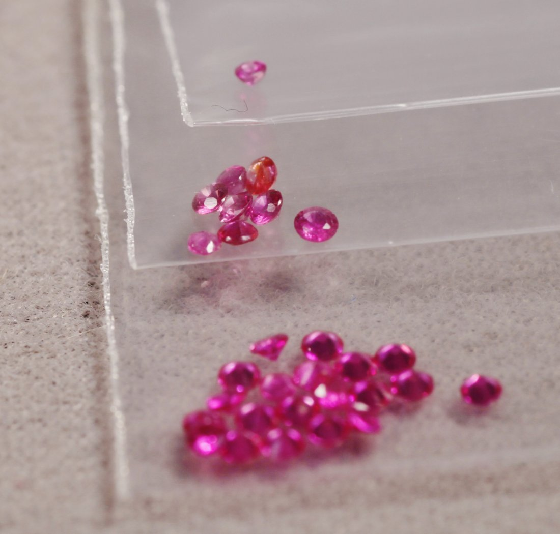 Large Lot of Rubies - 3
