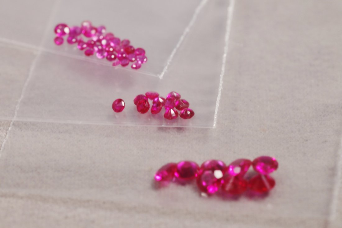 Large Lot of Rubies - 4