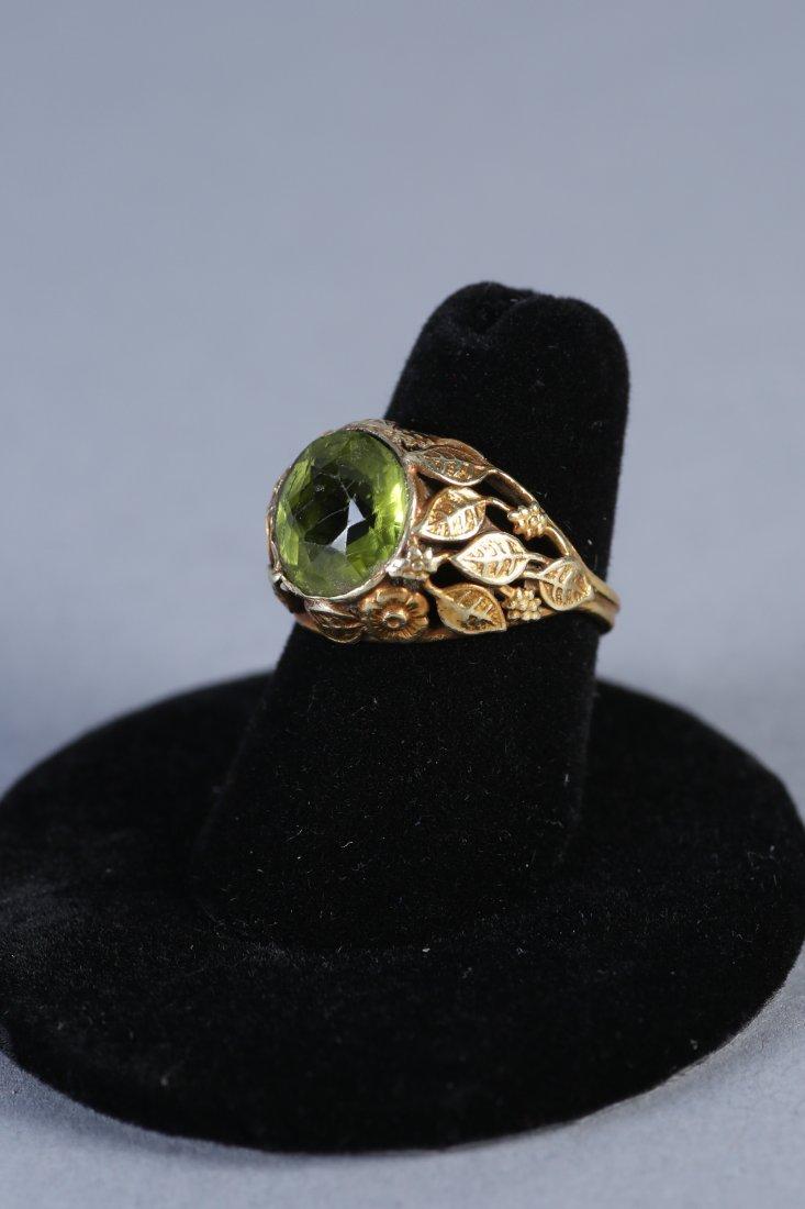 Vintage 14K Peridot Ring - 2