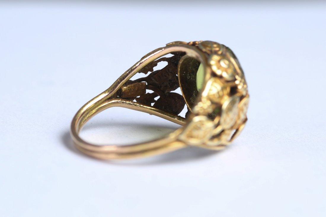 Vintage 14K Peridot Ring - 5