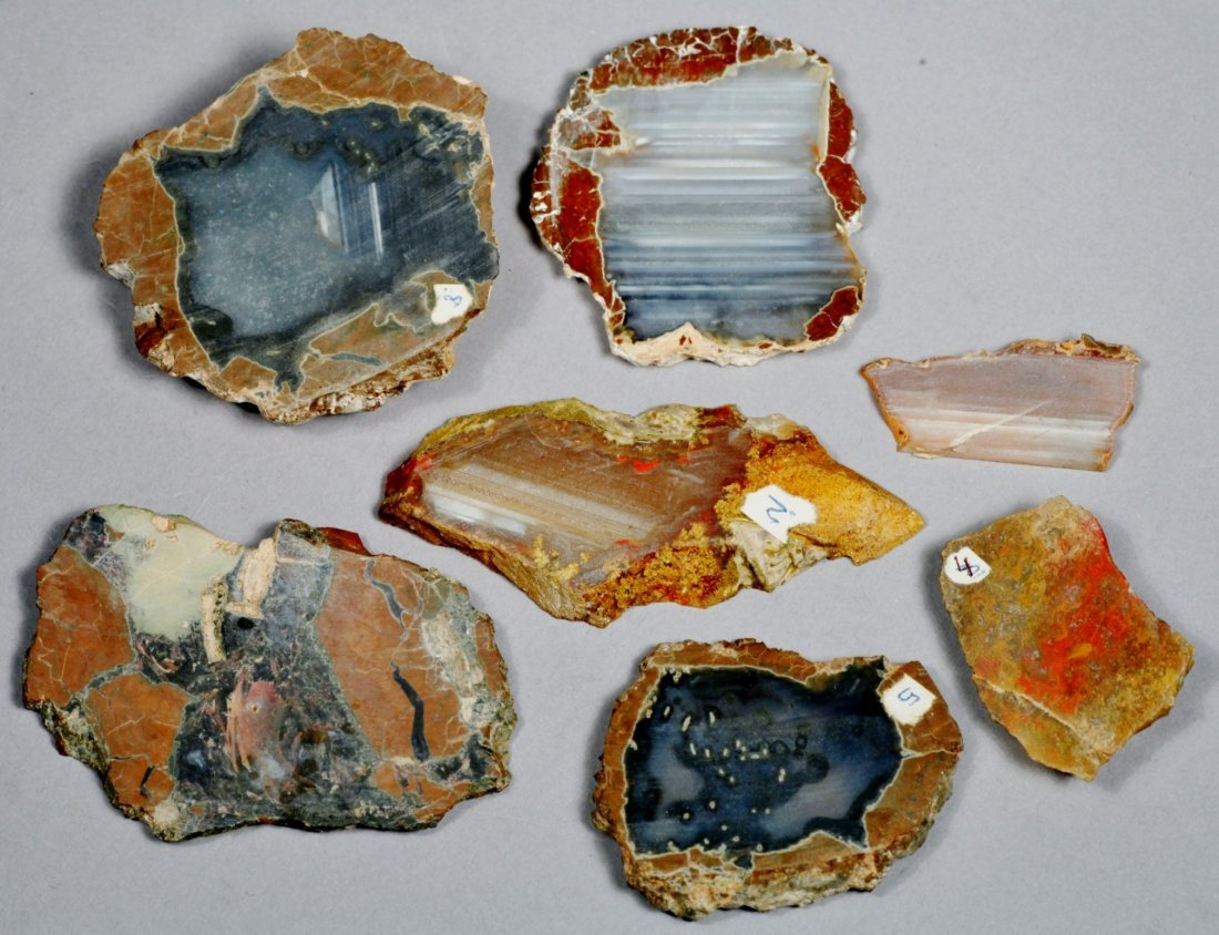 Slices of Geodes
