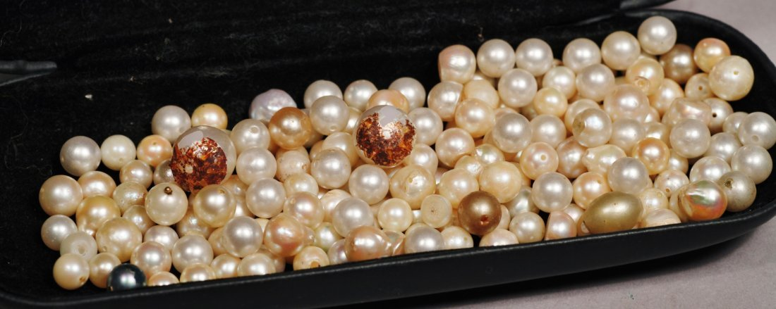 Large Lot of Vintage Cultured Pearls - 6