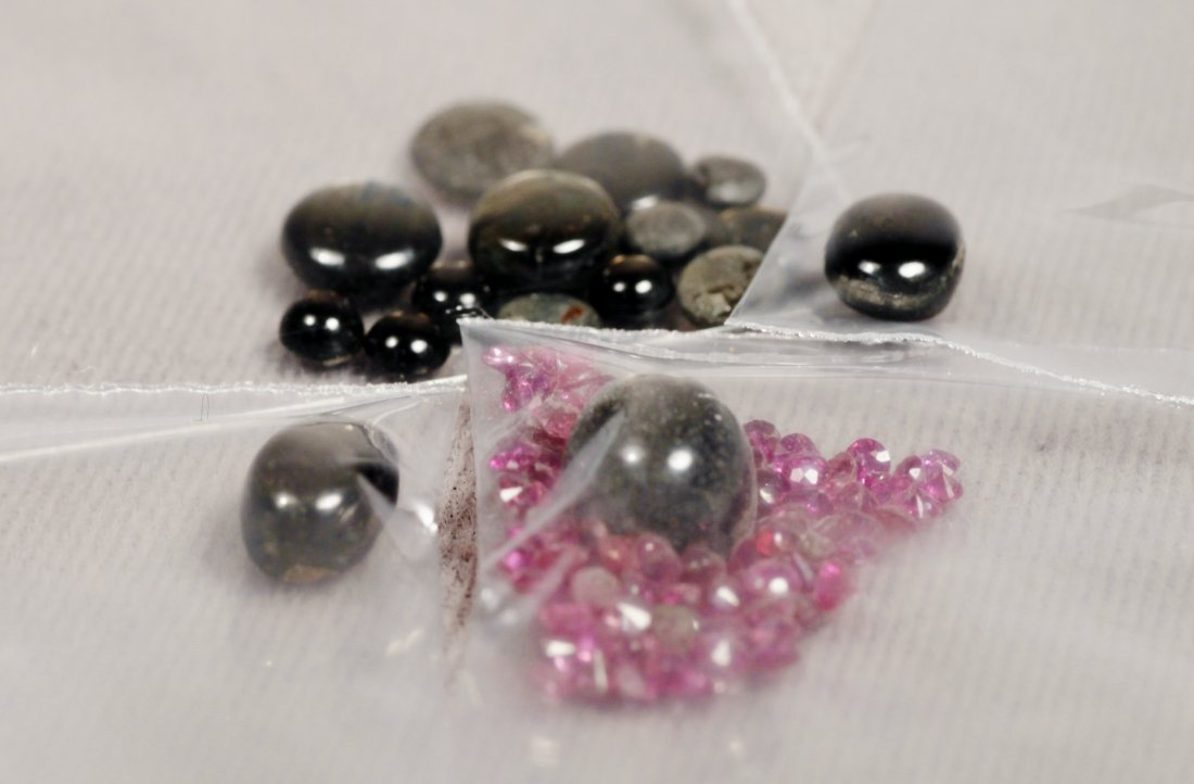 Vintage Lot Sapphires Various Sizes - 3