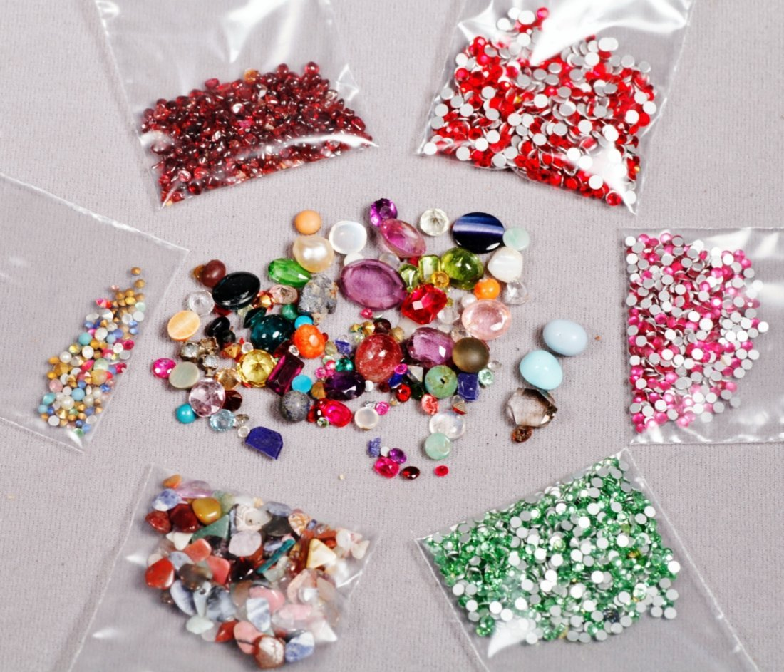 Crafters Lot of Various Stones