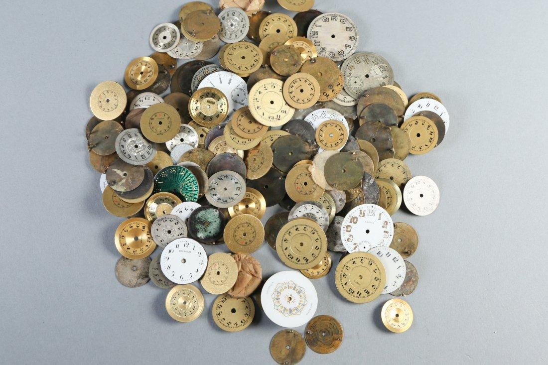Huge Vintage Lot, Round Watch Faces Longines