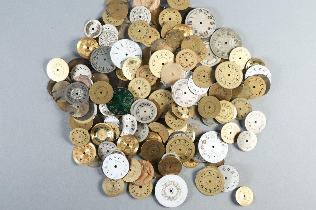 Huge Vintage Lot, Round Watch Faces Longines - 2