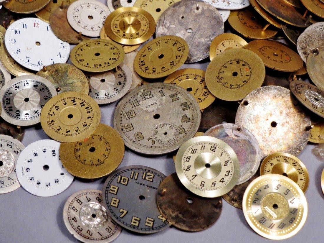 Huge Vintage Lot, Round Watch Faces Longines - 5