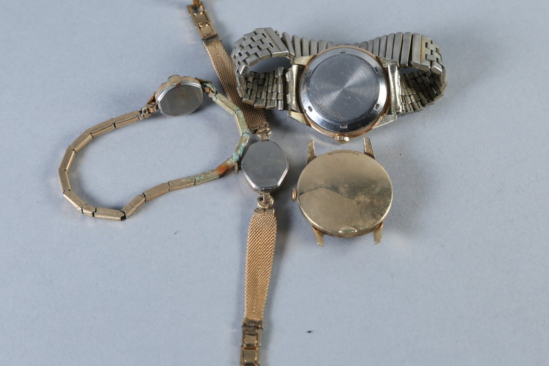 Vintage Watches, Gold Filled, Wittnaur, Tissot and More - 4