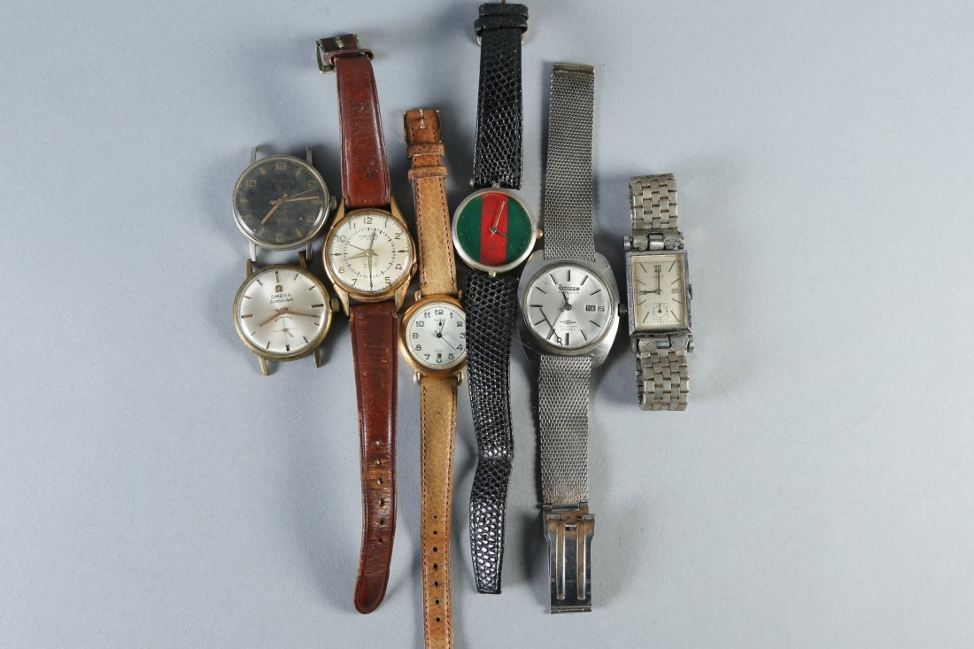 Misc. Vintage Wrist Watches, Omega, Gucci and More - 2