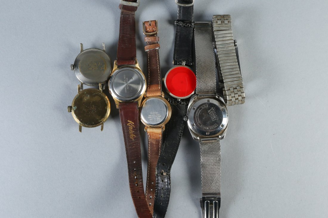 Misc. Vintage Wrist Watches, Omega, Gucci and More - 3