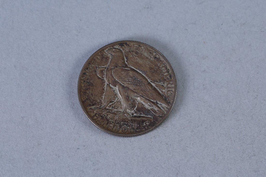 1935 Connecticut Tercentenary Commemorative Half Dollar - 2