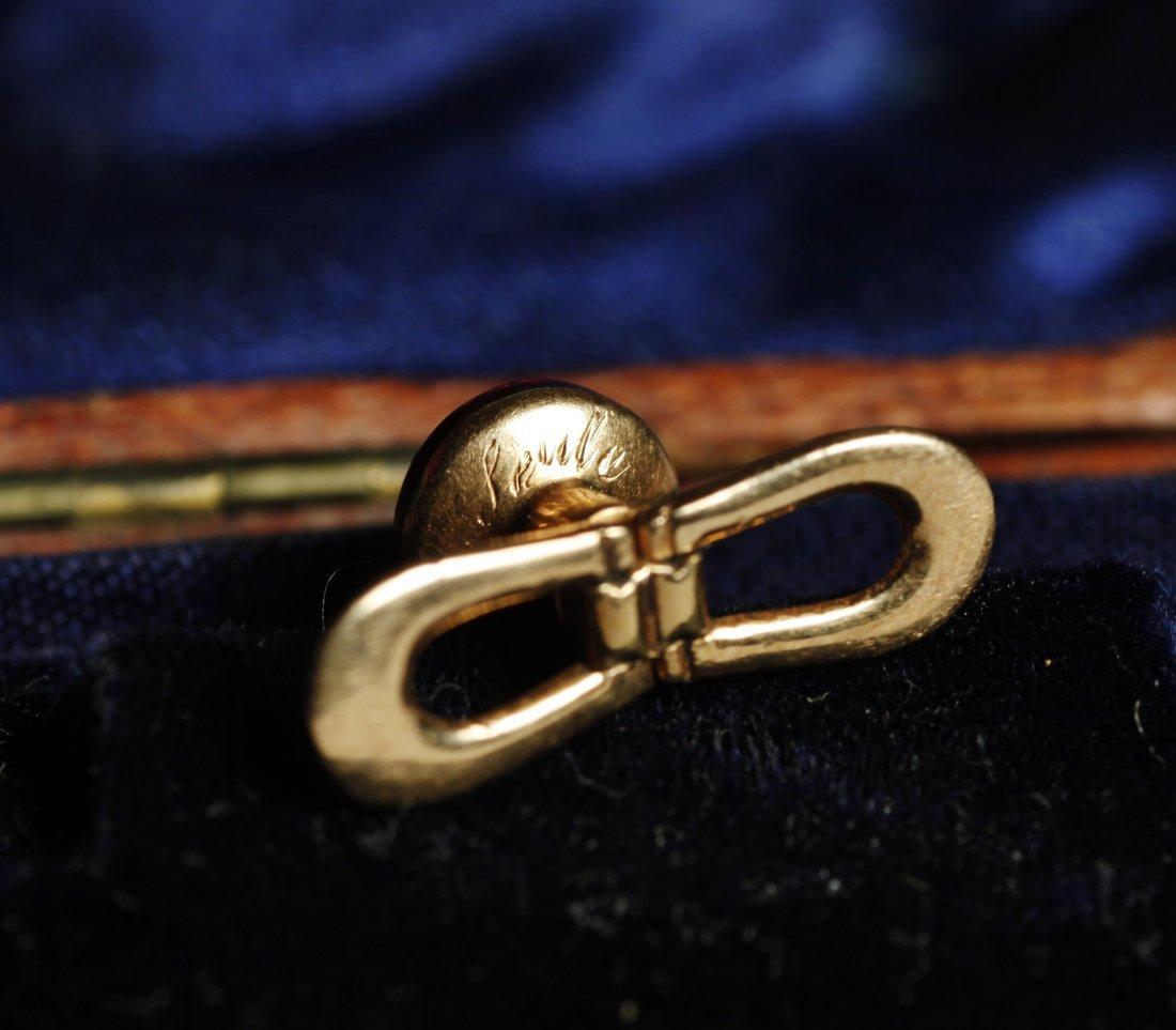 1900 Victorian French Collar Button/Cufflinks 14K - 5