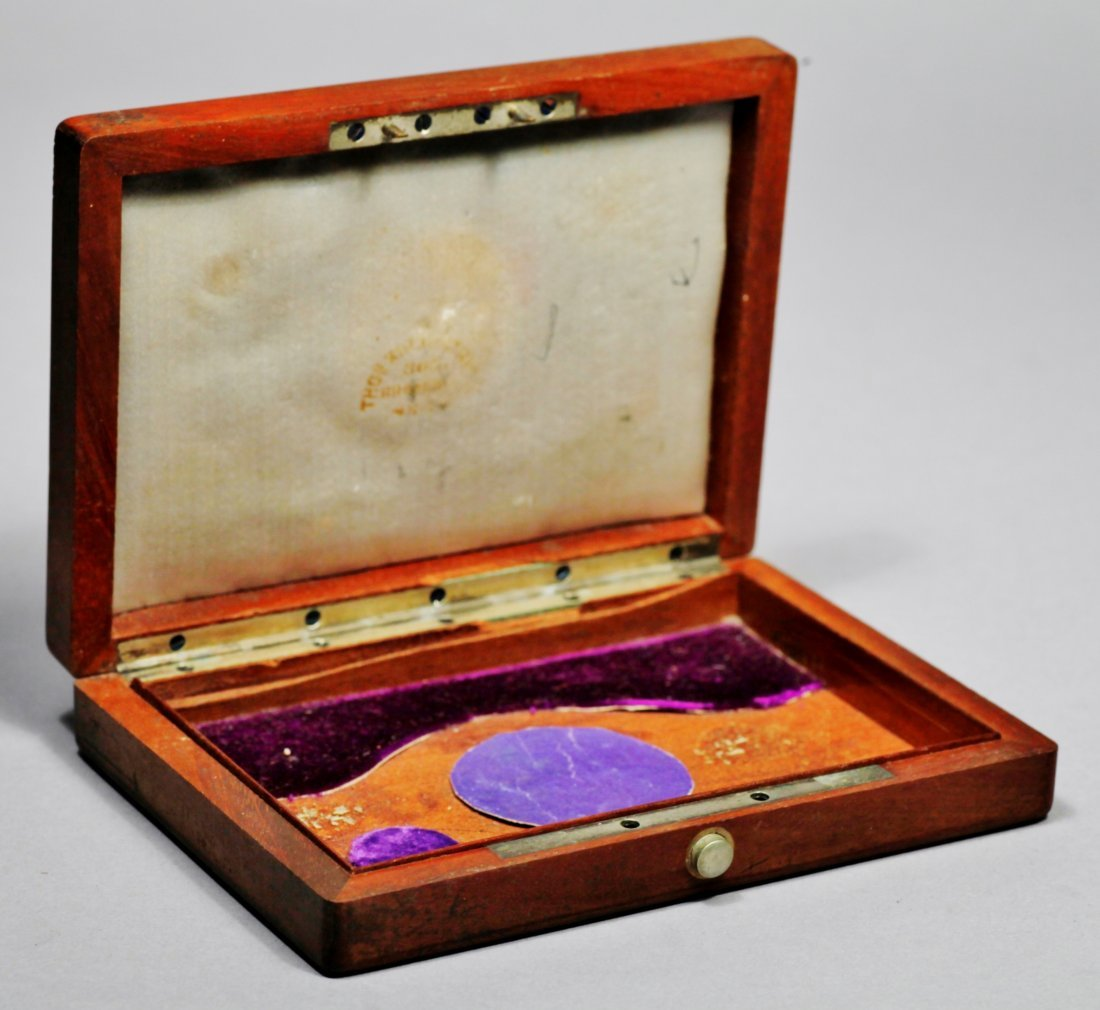 Antique Federal Jewelry Box - 5
